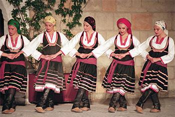 Greek Women Dancing