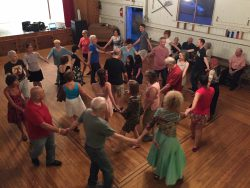 Dancing the Russian Round in Goldens Bridge, NY. Photo by Drew Orr