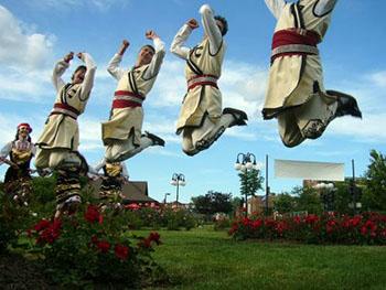 Bulgarian folk dance