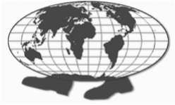 walking globe