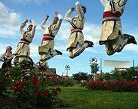 Bulgarian dancers!