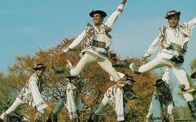 Calusari dancers
