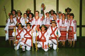 Romanian folk dance ensemble
