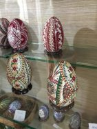 Hand-painted eggs from Bucovina