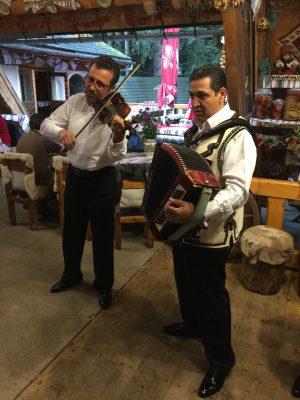 Romanian gypsy musicians